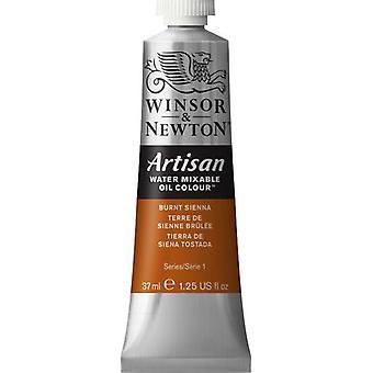 Winsor & Newton Artisan vatten blandbart olja färg 37ml (074 bränd Sienna S1)