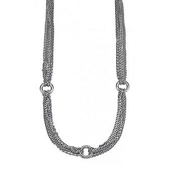 ESPRIT women's chain necklace silver cubic zirconia Alliance ESNL91940A430