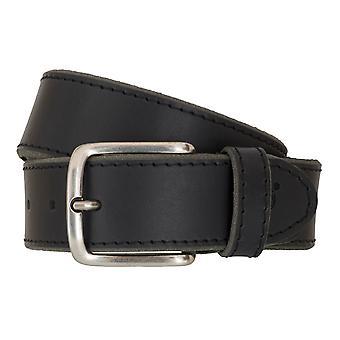 Cinture Cinture uomo Timberland in pelle cintura di jeans nero 6763