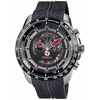 Breil Abarth Stainless Steel IP Chronograph Black & Red Dial TW1488 Watch