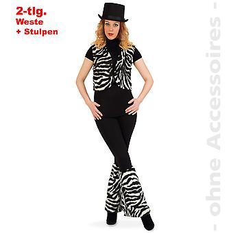 Zebra Zebra set ladies Zebra costume wild horse set Lady costume