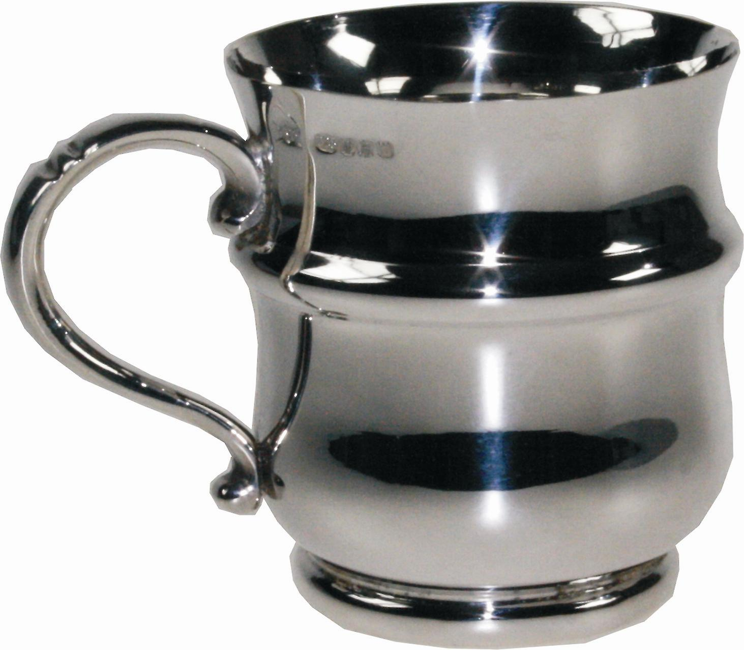 Mug Sterling Shaped Christening Thistle Silver zGMVpqSU
