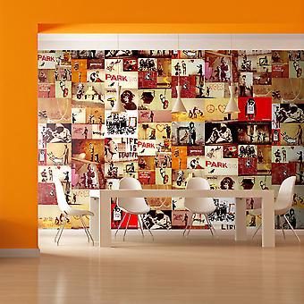 Fotomural - Collage - Banksy