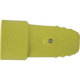 GAO 612016 Safety mains socket Rubber 230 V Yellow IP20