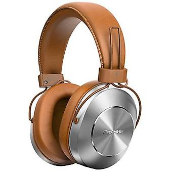Pioneer SE-MS7BT-T Bluetooth® (1075101) Hi-Fi Headphones Over-the-ear NFC, Headset, Volume control Brown