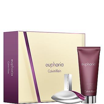 Calvin Klein Euphoria Gift Set 50ml EDP + 200ml Sensual Skin Lotion