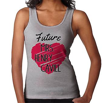 Future Mrs Henry Cavill Women's Vest
