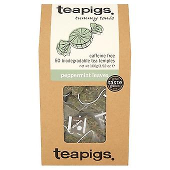 Teapigs, Peppermint Leaves Tea, 50 bags