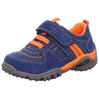Superfit Boys Sport 4 Mini 234-81 Trainers Blue Orange