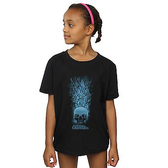 Fantastic Beasts Girls The Crimes of Grindelwald Skull Smoke T-Shirt