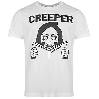 Official Mens Creeper T Shirt Crew Neck Tee Top Short Sleeve Cotton Print
