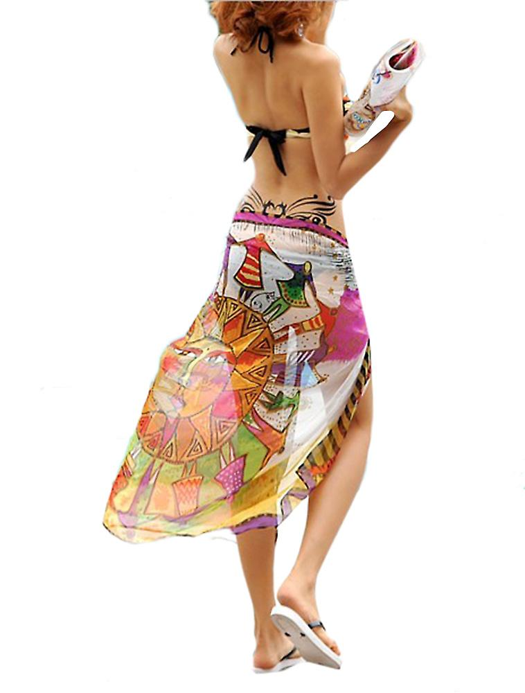 Waooh - Fashion - printed pareo Sun