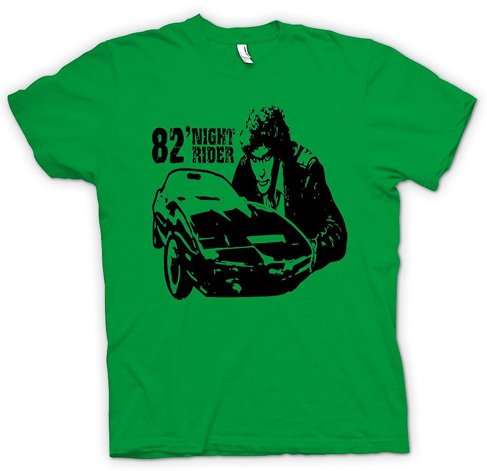 Mens T-shirt - Knight Rider 82 - Trans Am - Retro