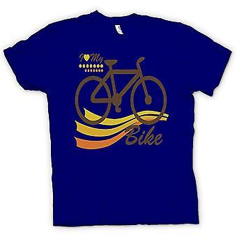 Kids T-shirt - I Love My Bike - Funny