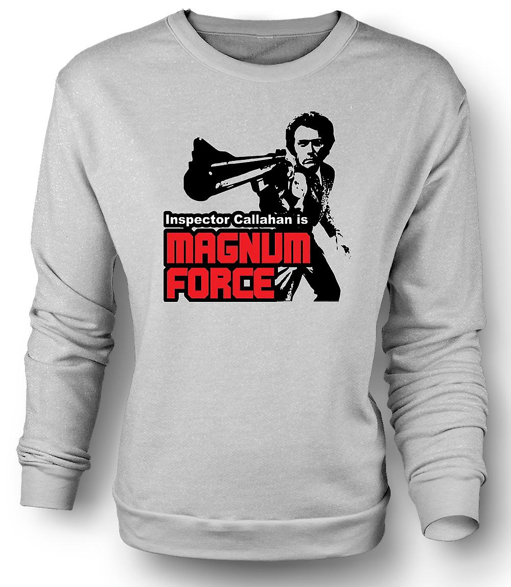 Mens Sweatshirt Dirty Harry Magnum Force - film