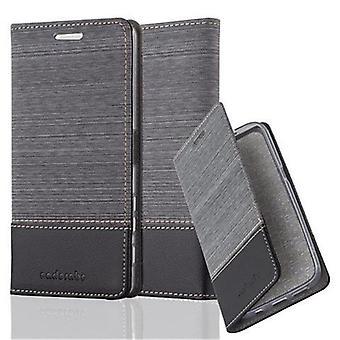 Cadorabo sag for Sony Xperia X - mobiltelefon tilfældet med standby funktion og rum i stof design - tilfælde dække ærme pose taske bog