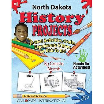 Projets d'histoire du Dakota du Nord - 30 activités Cool, artisanat, expériences & plus F (expérience du Dakota du Nord)