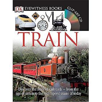 Tåg [med CDROM och affisch] (DK Eyewitness böcker)