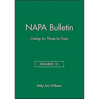 Caring for Those in Crisis (NAPA Bulletin)