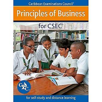 Principer för CSEC - för självstudier och distansutbildning