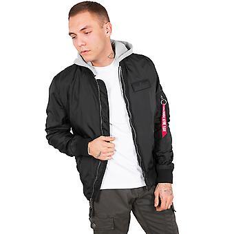 Alpha industries men's jacket MA-1 TT hood