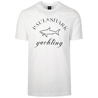 Paul & Shark Paul & Shark White Logo T-Shirt