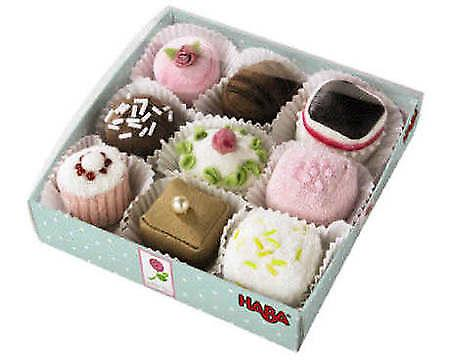 HABA - Play Food Petit Fours Set di 9 3808
