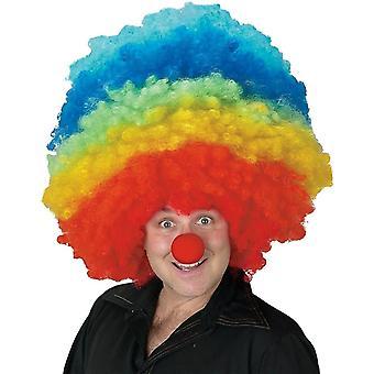 Clown Mega Wig For Adults - 17649