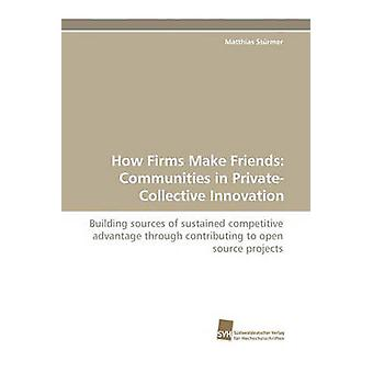 How Firms Make Friends Communities in PrivateCollective Innovation by Strmer & Matthias