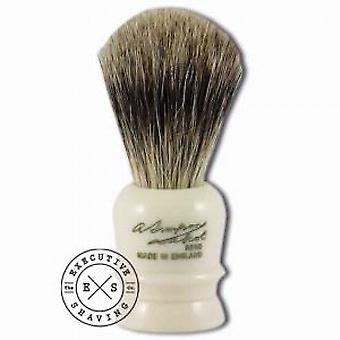 Simpsons Wee Scot Best Badger Hair Shaving Brush in Imitation Ivory
