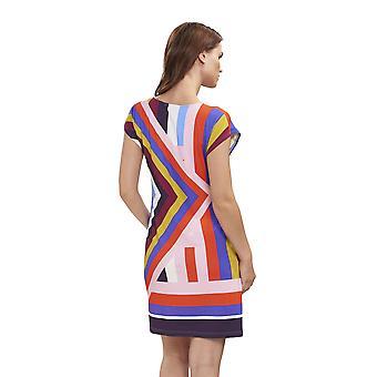 Feraud 3195100-16362 Women's Beach Graphic Multicolour Beach Dress