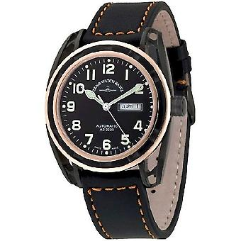Zeno-watch mens watch pimped automatic limited edition 3869DD-BRG-a1