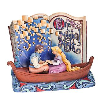 Disney Traditions Tangled ' One Magic Night ' Storybook