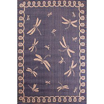 Outdoor Dragonfly Rugs In Blue By Rugstyle