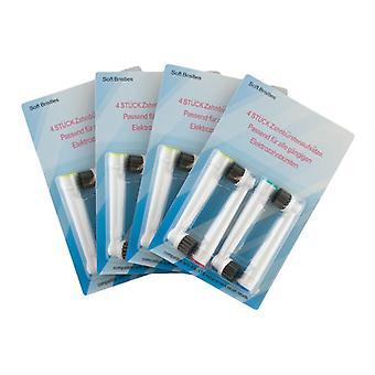 Oral B cepillo de dientes compatible cabezas-16 x sensible