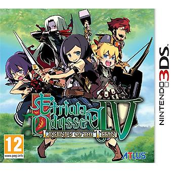 Etrian Odyssey IV Legends of the Titan (Nintendo 3DS)