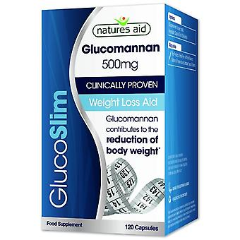 Nature's Aid GlucoSlim (Glucomannan) 500mg Capsules 120