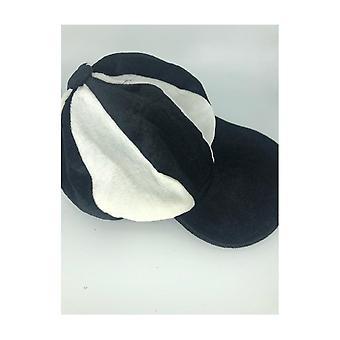 Union Jack porter du noir & blanche Baker bonnet