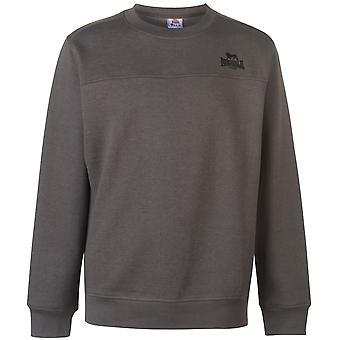 Lonsdale Mens Crew Neck Sweatshirt Jumper Blouse Top