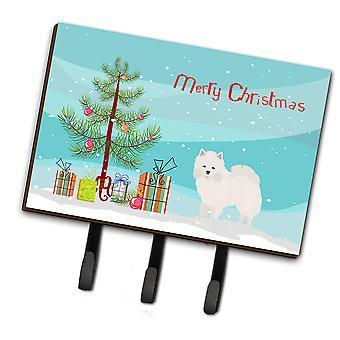 American Eskimo Christmas Tree Leash or Key Holder