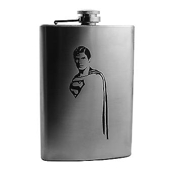 8oz you'll belive a man can fly flask l1