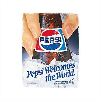 Pepsi Welcomes The World Men's T-Shirt
