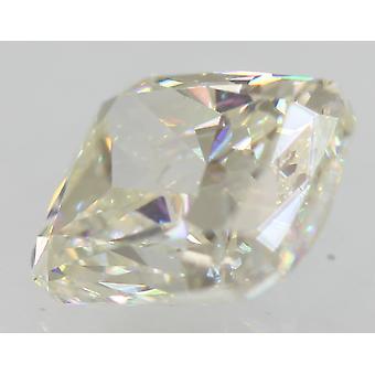 Certified 1.17 Carat G Color VS1 Radiant Enhanced Natural Diamond 6.83x5.42mm