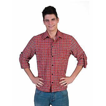 Classic Black Plaid Shirt Cowboy Western Shirt