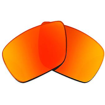 Replacement Lenses Compatible with OAKLEY Dispatch 1 Non-Polarized Red Mirror