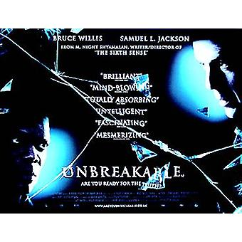 Unbreakable (Regular) Original Cinema Poster