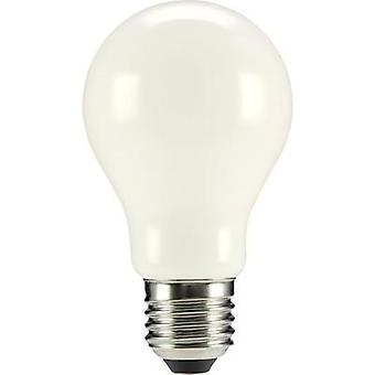 LED E27 arbitraria 6 W = 55 W Warm white (Ø x L) 60 x 105 mm EEC: base-congelador a ++ Sygonix filamento 1 PC