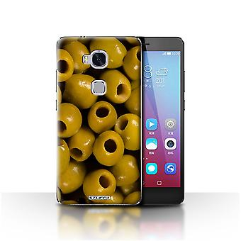STUFF4 Case/Cover for Huawei Honor 5X/GR5/Olives/Food