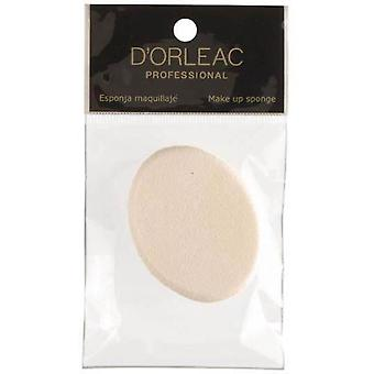 D'Orleac Spugna trucco ovale Nb07 (Donna , Make up , Pennelli)