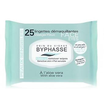 Byphasse Sensitive Skin Cleansing Wipes 25 Units